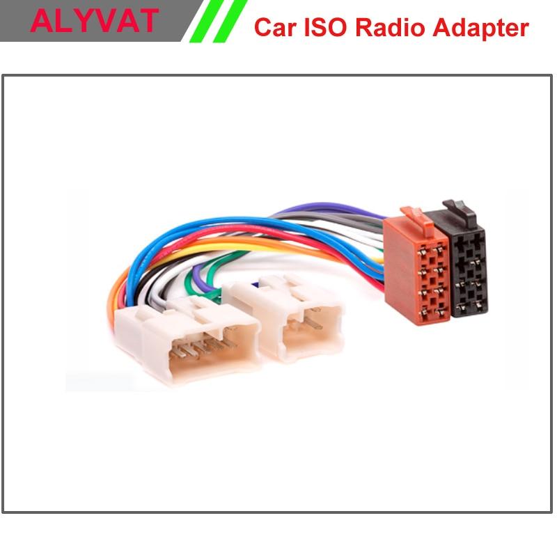 car iso radio wiring harness for toyota lexus daihatsu adapter rh aliexpress com