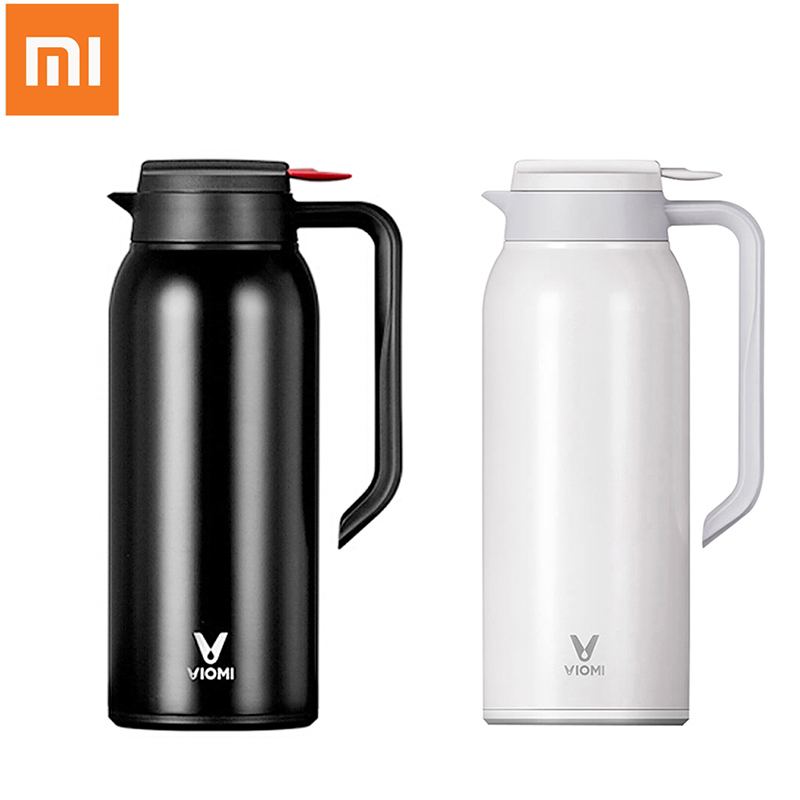 Xiaomi VIOMI Thermos Cups Mijia 1.5L Stainless Steel Vacuum Thermos Bottle 24 Hours Flask Portable Insulation Water Kettle