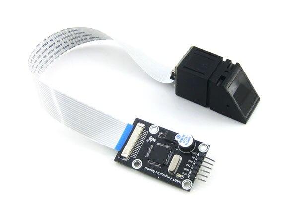 цена на TFS-D400 Fingerprint Identification Module Fingerprint Acquisition Development Microcontroller Serial Port STM32F205