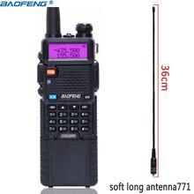 BaoFeng UV 5R 5W 3800mAh longue batterie Li ion double bande 136 174 & 400 520MHz Ham CB Radio bidirectionnelle talkie walkie émetteur UV5R