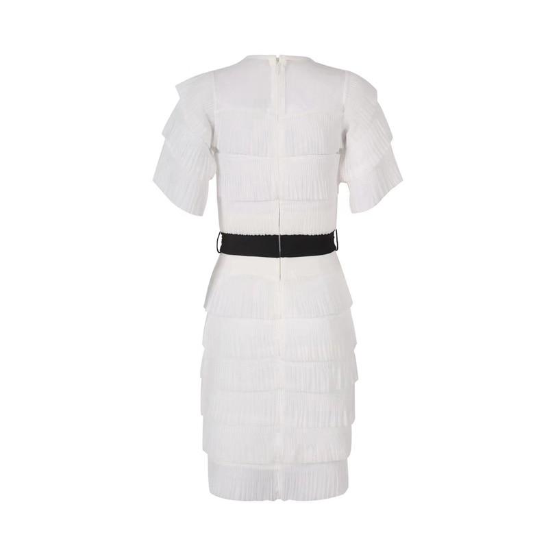 4b60b229e532 Più Nuovo Bianco Dress Mini Vestito Fiocchi Estate Fasce Bicchierino Delle  Night Elegante Di Nero Abiti ...