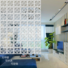 Modern minimalist bedroom living room hanging wall fashion hollow hanging flower windows soft partition porch Cheap Chinese