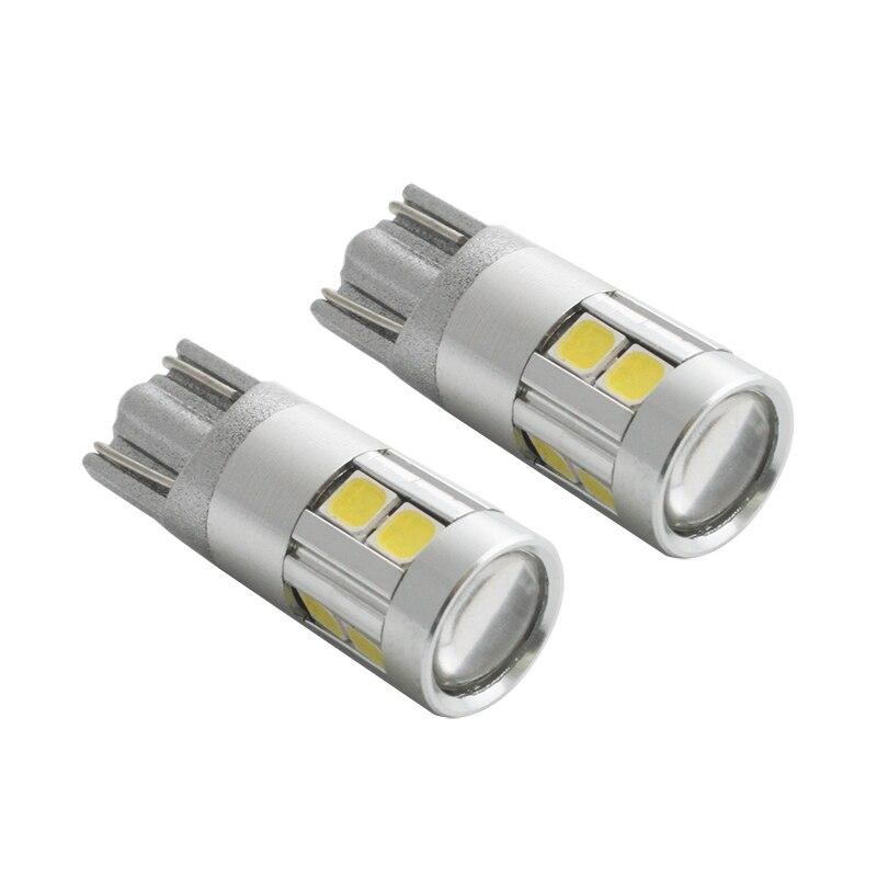 2 stk Car-styling T10 W5W LED nummerpladerlamper Bagagerumslampe - Billygter - Foto 2