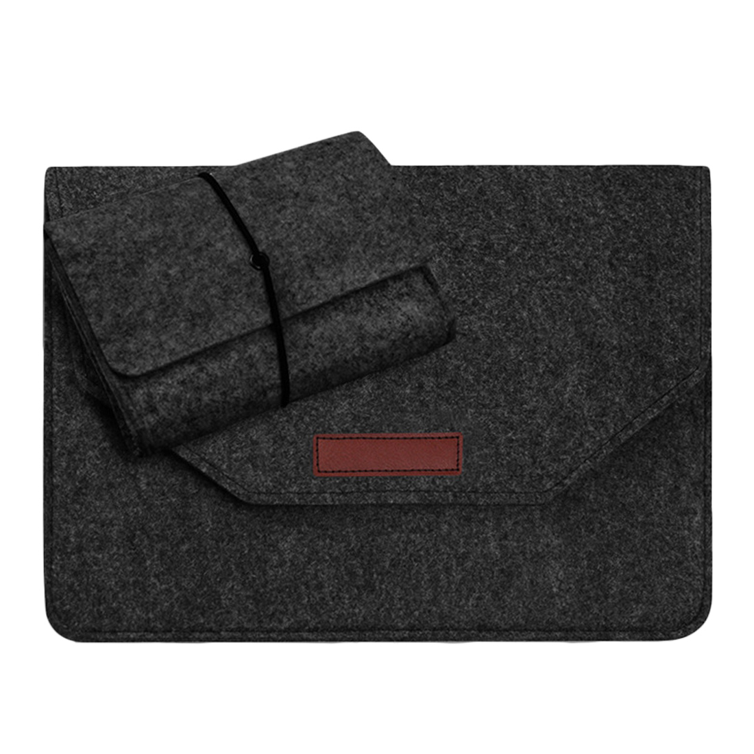 High Quality Soft Sleeve Bag Bussiness Wood Felt Case For Apple Macbook Air Pro Retina 11 13 15 Laptop For Mac Book 13.3 Inch