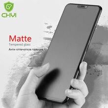 CHYI Matte glas Für oneplus 6 Bildschirm Schutz Anti Fingerprint Gehärtetem glas mit Oleophobe Beschichtung 9 H milchglas 1 + 6