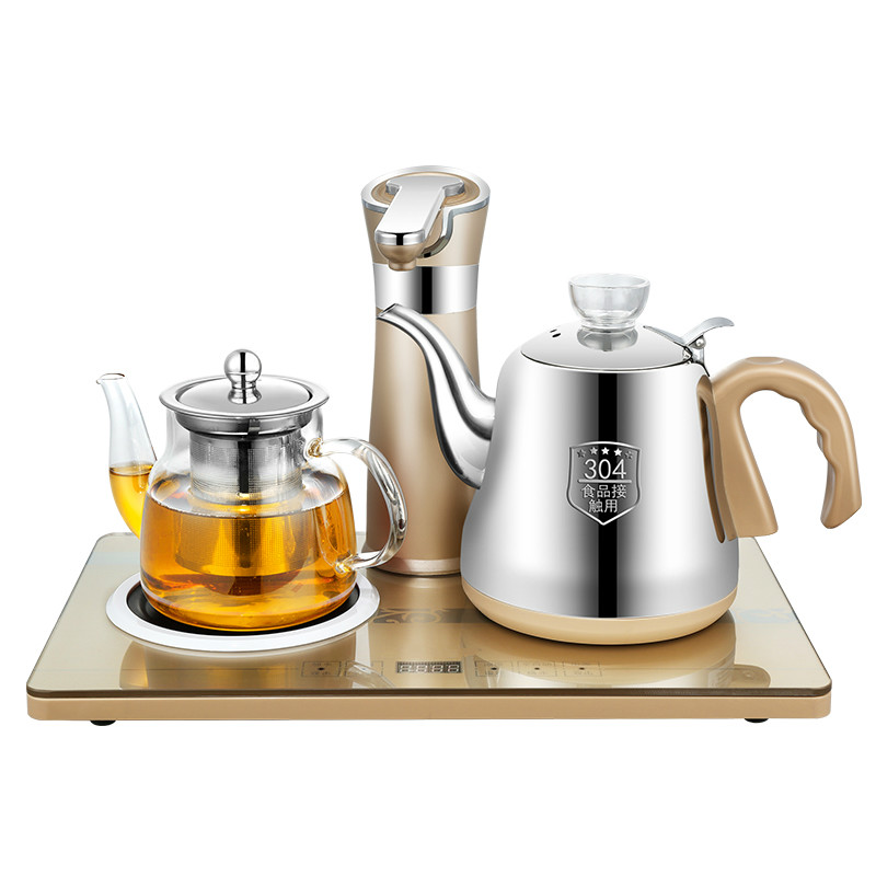 304 water kettles made of tea ware Fully automatic upper kettle electric fully automatic upper water electric kettle 304 tea set teapot for household use