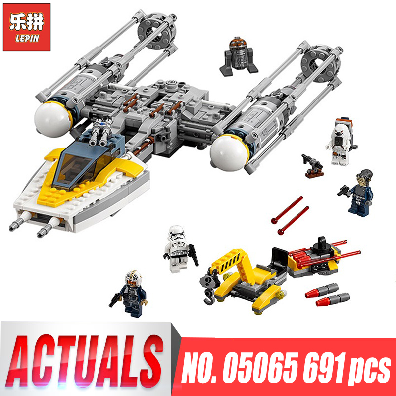 Lepin 05065 Star Set Wing fighter Set Building Blocks Bricks Educational Toys Wars legoinglys 75172 boys Birhtday Christmas gift new 1685pcs lepin 05036 1685pcs star series tie building fighter educational blocks bricks toys compatible with 75095 wars