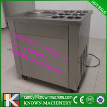 110 В-200 В Мороженое жарки машина, машина для готовки мороженого корабль к покупателей дома