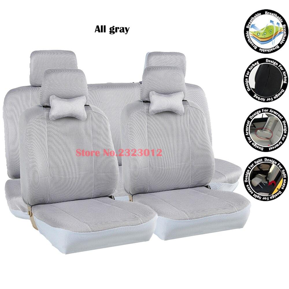 Fundas para asientos gris//negro sp Lada Kalina