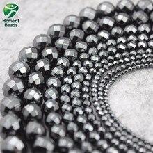10 Beads 12mm Black
