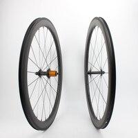 Бескамерные Farsports FSC50 CM 25 ed концентратор 50 мм 25 мм Широкий far Спорт колеса, аэро динамический ручной сборки велосипед углерода Колесная 50