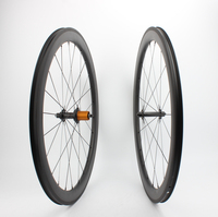 Tubeless Farsports FSC50 CM 25 ED hub 50mm 25mm wide far sports wheel,aero dynamic hand build bike carbon wheelset 50