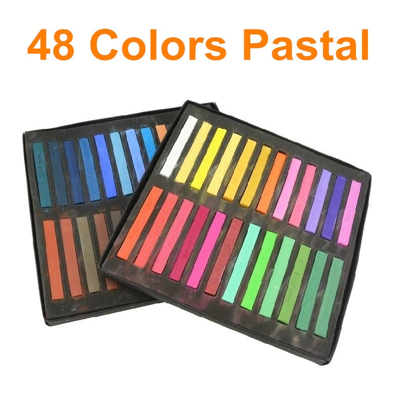 48 colors soft pastel stick masters pastel art supplies
