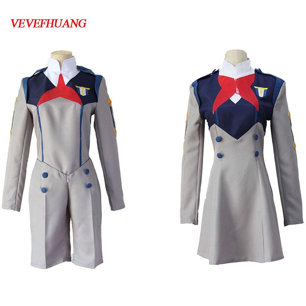 Cosplay School Uniform Dress Darling In The FranXX Code 015 Mei Ichigo Full Set