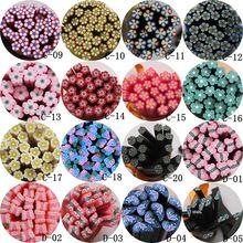 5 шт./лот, 5 мм* 5 см, цветок, Бабочка, серия, полимерная глина, тростник, необычный коричневый, розовый цветок, розовая бабочка, половинная бабочка