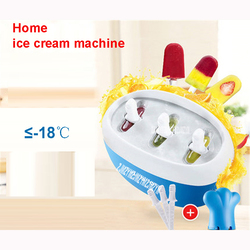 GY2103 Fruit home - made ice cream machine juice children s ice rod machine ice cream machine 24 hours freezer time Blue/Pink