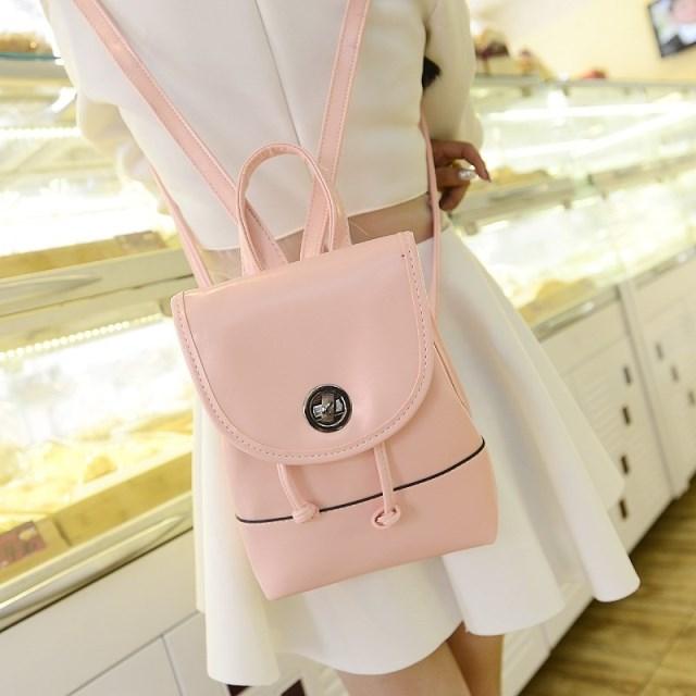 2014 mini sweet small backpack bags fashion women's PU trend ...