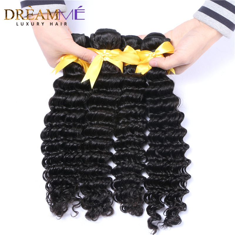 kinky curly human hair extension with 13x4 lace frontal closure (4)