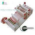Réplica de madeira tecelagem/máquina de tricô para o bebê/criança diy capacidade prática ferramenta, madeira máquina de tricô s0025h