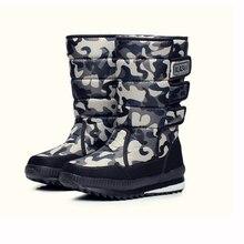 Новые мужские Нескользящие водонепроницаемые лыжные Ботинки Зимняя обувь уличные теплые длинные камуфляжные мужские зимние ботинки большого размера