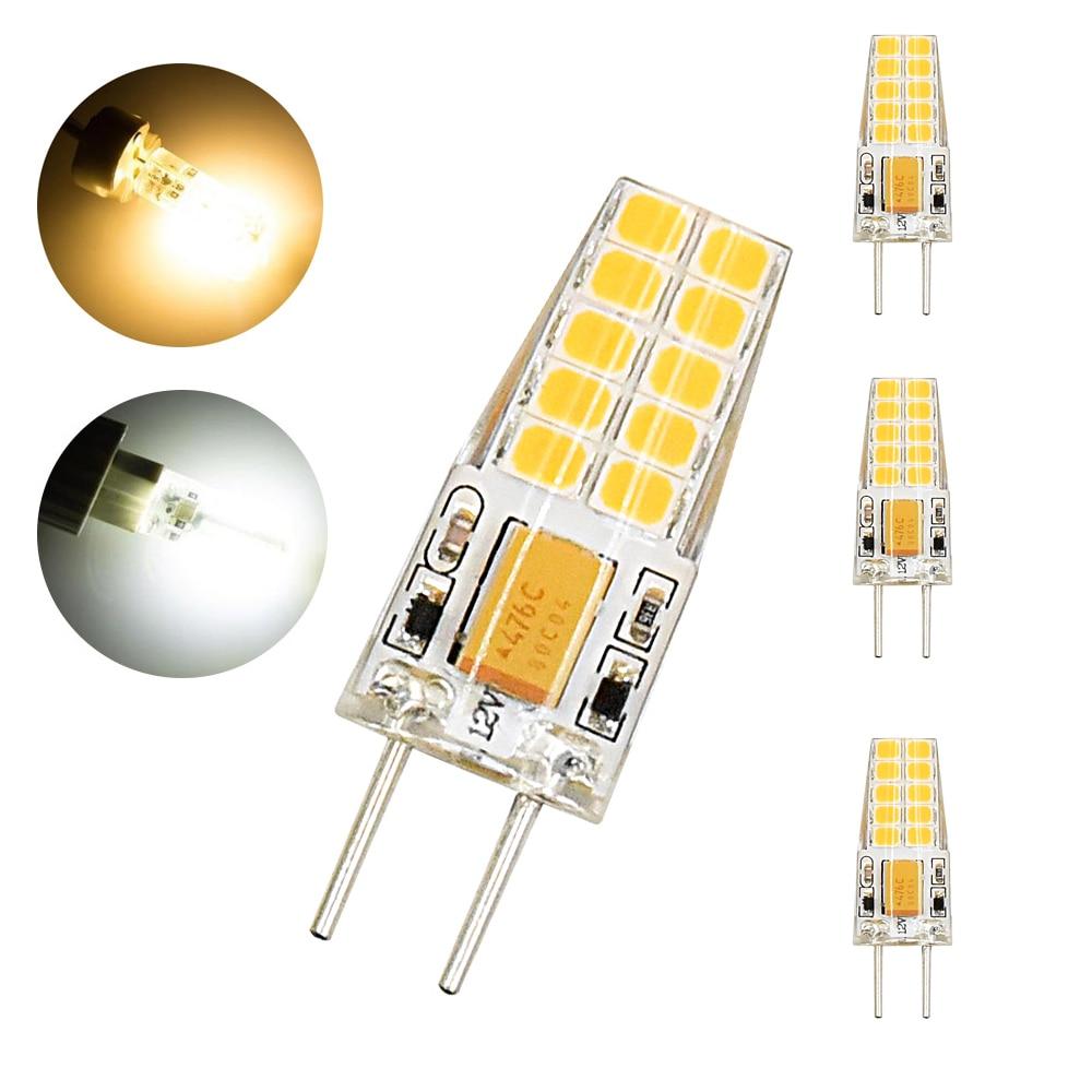 G6.35 LED Bulb, 12V 3W G6.35 Bi-pin LED, 360 Degree Beam Angle, 12 Volt LED Lights G6.35 Base For Landscape Lighting, Display, D