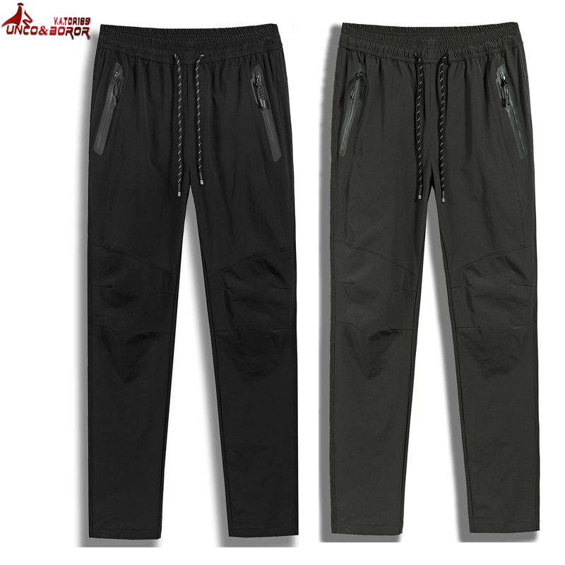 UNCO&BOROR Plus Size L~7XL 8XL Men Casual Pants Male Brand Straight Trousers Military Long Pants Sweatpants Jogger Sporting Pant