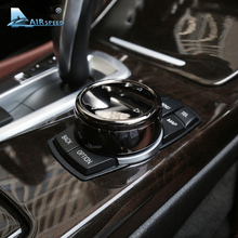 Скорость полета салона ABS IDrive мультимедиа кнопки ручка крышки черный для BMW X1 X4 F15 X5 F16 X6 1 2 3 5 серии F10 F20 F30 F34