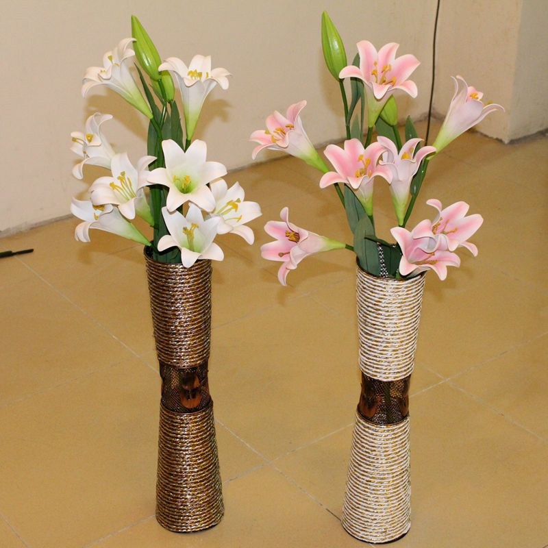 Get Quotations Free Shipping Iron Waistline 60cm Vase Rattan Living Room Floor Is A Large Flower Home