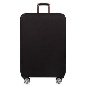Защитный чехол на чемоданчик OKOKC, плотный, эластичный, чистый цвет, подходит для чемоданов размером 18-32 дюйма, аксессуары для путешествий