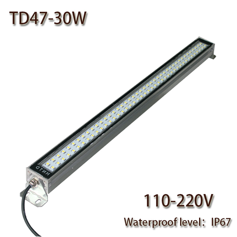HNTD 30W  AC110V/220V  TD47 LED Metal work light CNC machine work tool lighting  Waterproof  IP67  Led Panel Light 2017 Hot sale