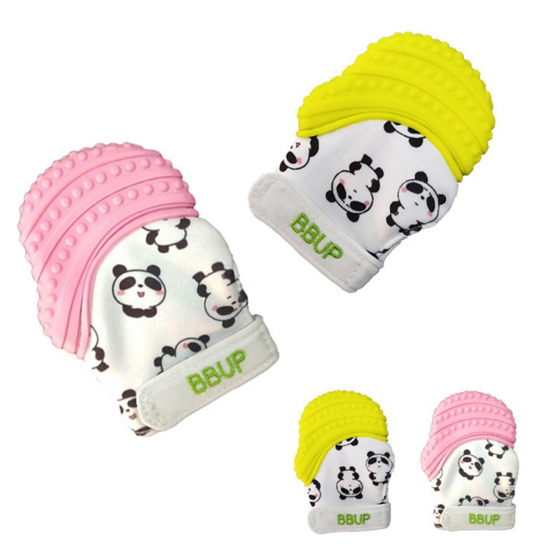 Hot Sale Toddler Toys 1pcs Infant Baby Teethers Molar Gloves Eat Fingers Soft Baby Teething Mittens Anti-bite Hand
