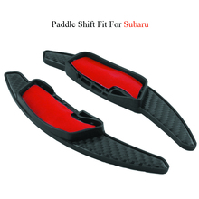 1 Pair OEM Car ABS Paddle Shift Carbon Steering Wheel Shift Paddles for Subaru chuangmu for hyundai sonata lf the steering wheel shift paddles movement module shell decoration96770