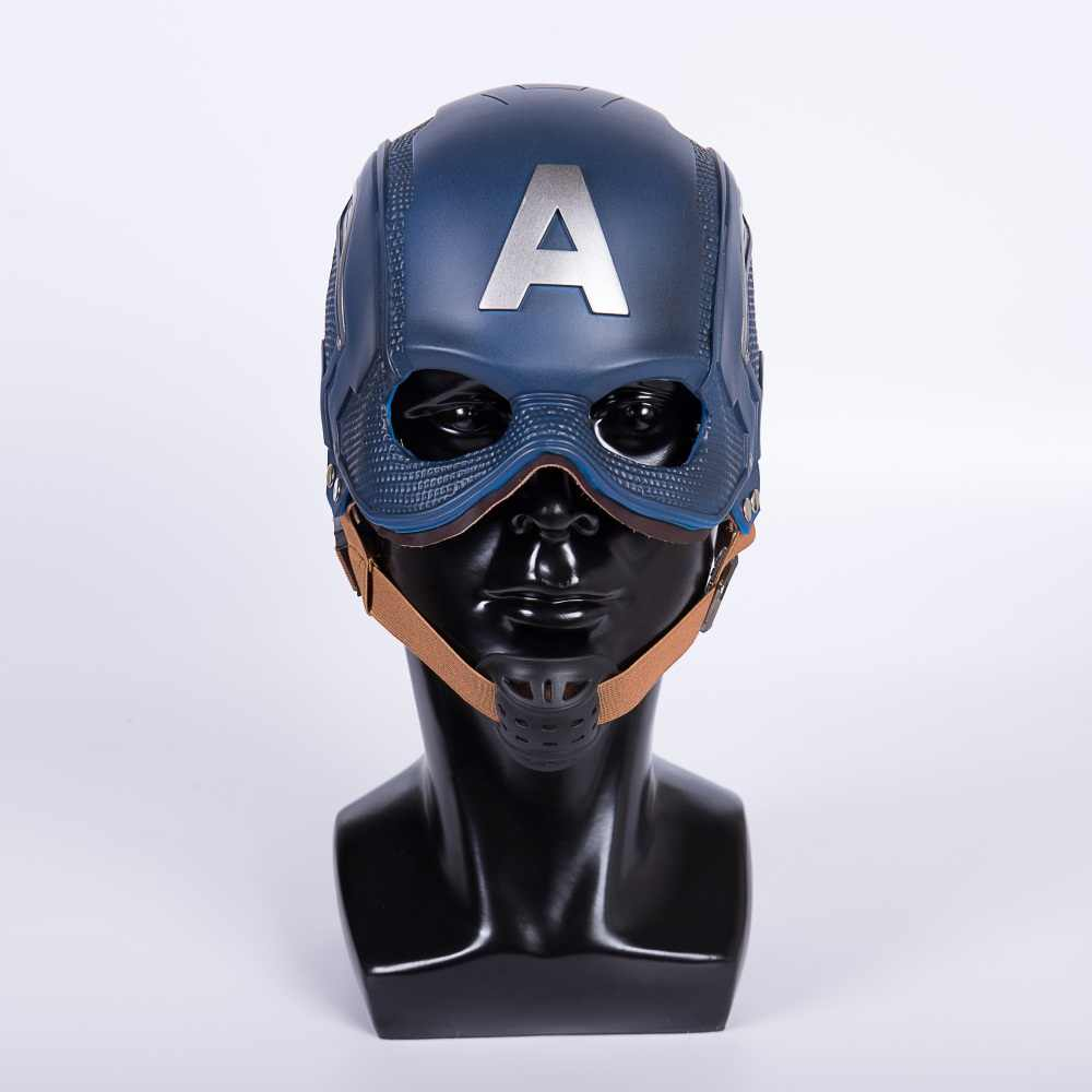 Captain America Helmet Civil War Mask Steve Rogers Helmet Cosplay Mask New