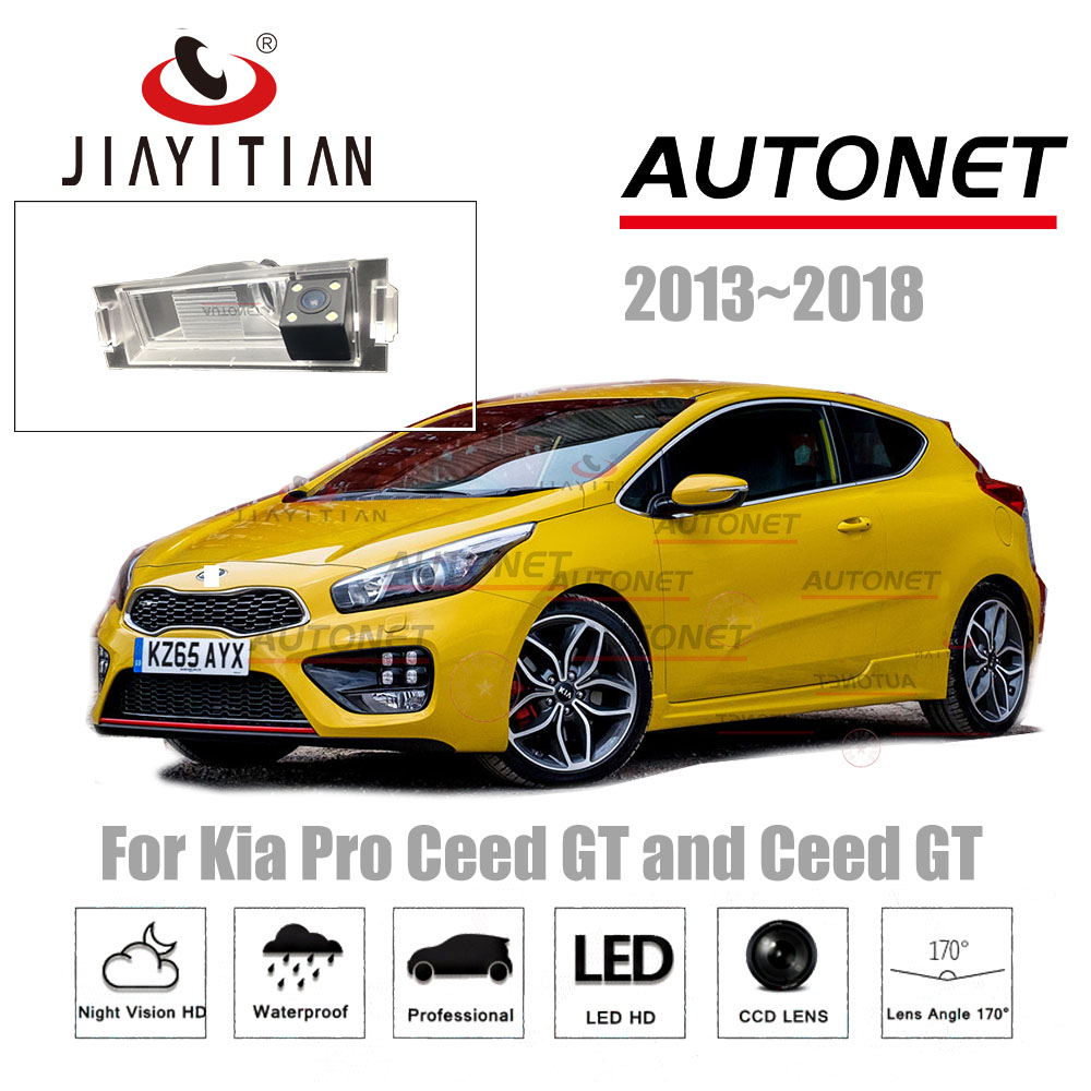 JiaYiTian Rear View Camera For Kia Pro Ceed GT/Ceed GT Coupe 2013~2018 CCD/Night Vision/License Plate camera reverse camera велосипед gt sensor 9r expert 2013