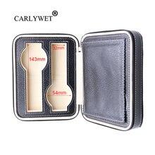 Carlywet портативная роскошная коробка из искусственной кожи