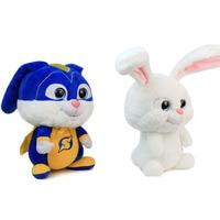 30cm Anime Secret Pets Rabbit Snowball Stuffed Plush Toys Snowball Wearing a Battlesuit Plush Doll Toys Gift for Children