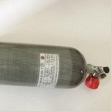 4500psi 6.8L Композитный Углеродного Волокна Газа Воздуха Дыхательный Аппарат Дайвинг Танк/Пустой Газовый Баллон 30мпа Бутылки-