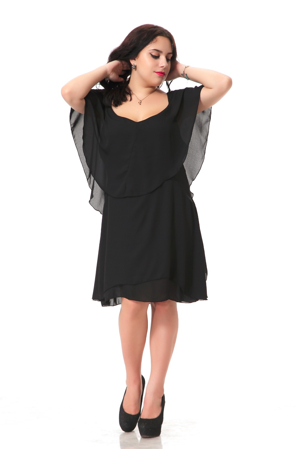 Women s black dresses you abstract