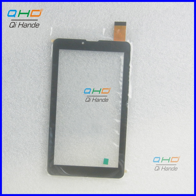 Black New For 7 inch WEXLER TAB A744 Tablet touch screen Touch panel Digitizer Glass Sensor replacement Free Shipping new capacitive touch panel 7 inch mystery mid 703g tablet touch screen digitizer glass sensor replacement free shipping