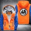 Hot New Dragonball Goku Sun Wukong Invierno Fleece Con Capucha Para Hombre Sudaderas Gratuito Shippingt EE. UU. Tamaño