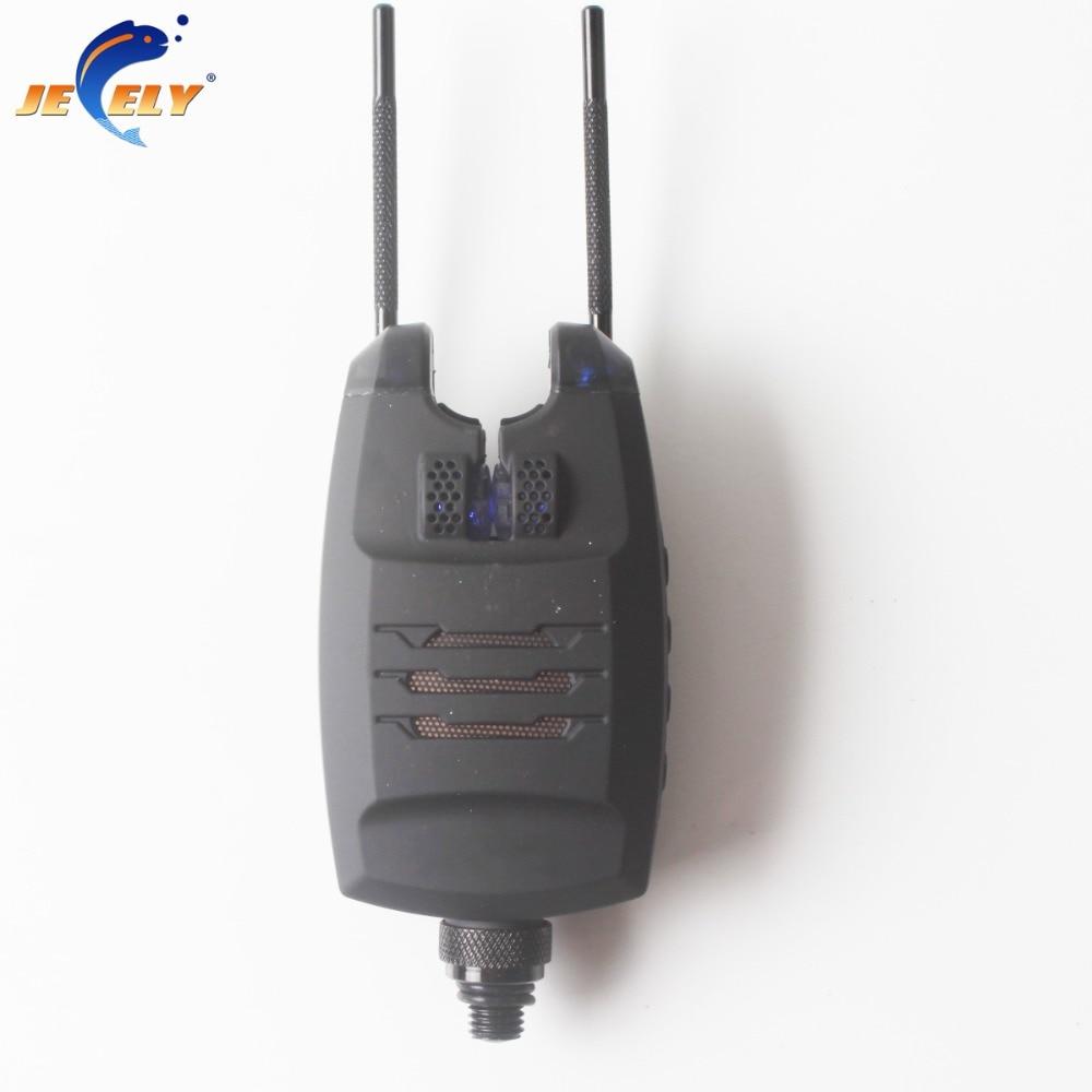 JEELY Single Carp Fishing Bite Alarm JY-15 with 3 LED Indication for swingerJEELY Single Carp Fishing Bite Alarm JY-15 with 3 LED Indication for swinger