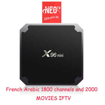 Neopro Iptv subscription Live tv 1800 channels French Arabic Europe Spanish Italian Iptv one year X96 mini - DISCOUNT ITEM  19% OFF All Category