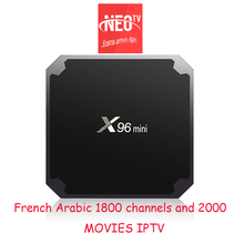 Neotv Iptv előfizetés neopro Live tv 1800 csatornák Francia arab Európa spanyol olasz Iptv Neotv Neo egy év X96 mini