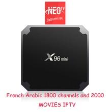 Neotv Iptv συνδρομή neopro Live τηλεόραση 1800 κανάλια Γαλλικά Αραβικά Ευρώπη Ισπανικά Ιταλικά Iptv Neotv Neo ένα χρόνο X96 μίνι