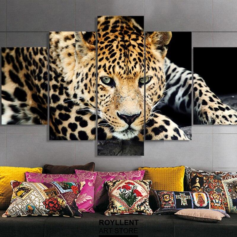 Jaguar Foto Impresión de la Lona sin marco Cuadro de La Pared ...