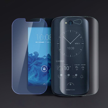 Back+Front For 5.0″ YotaPhone 2 Mobile Phone YD206 Tempered glass screen Protector Glass flimfilm glass screen protection