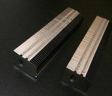 110*20*26MM Aluminum fins heat sink Desktop computer cooling cooler Suitable for 8mm diameter heat pipe , customize length