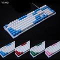 Backlit 108 ANSI ISO K70 layout Dicken PBT Keycap Doppel schuss Tastenkappen Für OEM Kirsche MX Schalter Mechanische Gaming Tastatur-in Tastaturen aus Computer und Büro bei