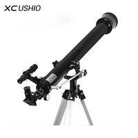XC USHIO 675 Times Zooming Outdoor Monocular Space Astronomical Telescope With Portable Tripod Spotting Scope 900/60m Telescopio