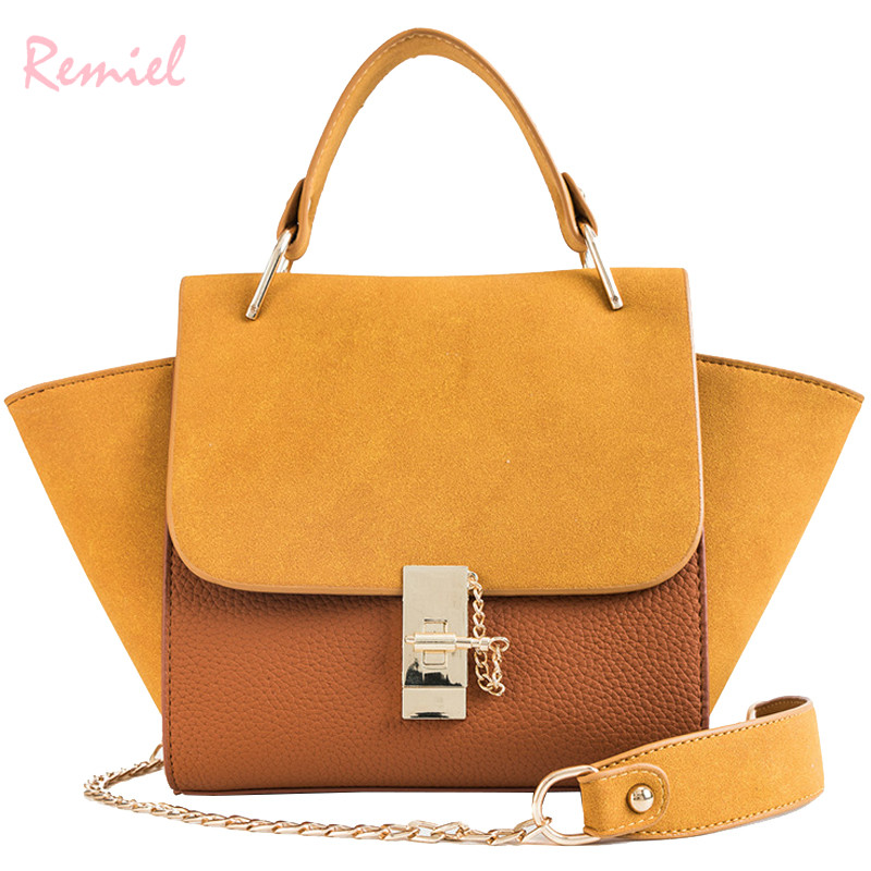 European Style Fashion Female Bag 2018 New Quality Matte PU Leather Women's Designer Handbag Ladies Large Shoulder Messenger Bag